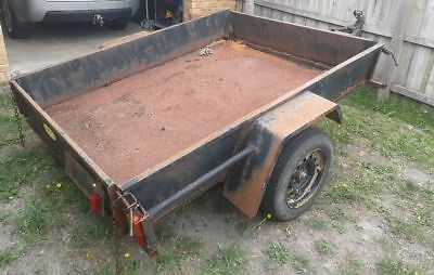 7x5 trailer project