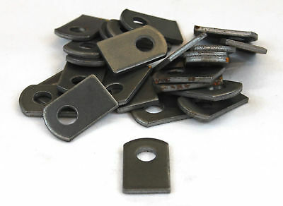 "Weld tabs on Steel Brackets 1"" x 1 1/2"" x 1/8"" Lot of 25 Brackets"