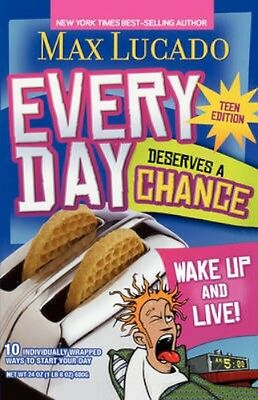 NEW Every Day Deserves A Chance by Max Lucado BOOK (Paperback) Free P&H
