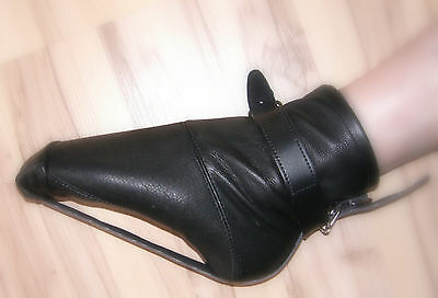 High Heel Ballett Trainer Lack Latex High Heel Bondage Fessel bis Gr. 44