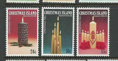 1983 Christmas set of 3 Complete MUH/MNH