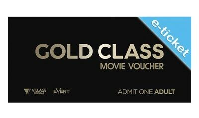 Gold Class Adult Tickets | 20 Min Email Dispatch | Rpp $42