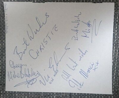 Christie original Autogramme, Band,autograph,In Person 1982,Rockband