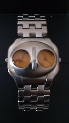 WATCHMEN NITE OWL  Twin Face Flip-Up Watch 2009 -  Collection, Limited Edition