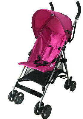 Baby Stroller Pink Light Weight Free Raincover
