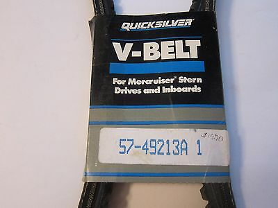 New Quicksilver Mercruiser Stern Drive & Inboard V Belt 57-49213A1 MORE Listed