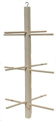 Wooden Hanging Perch For Canaries, Cockatiels, Budgies, Finches etc. Code: M58