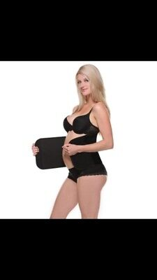 Belly Bandit Large Black Pregnancy Recovery Tuck Belly Wrap  Baby Bamboo Shaper