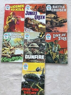 7 War Picture Library Comics