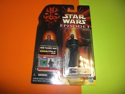 Star Wars=Episode 1=Darth Maul+ Commtech Chip=OVP=Hasbro=Action Figur