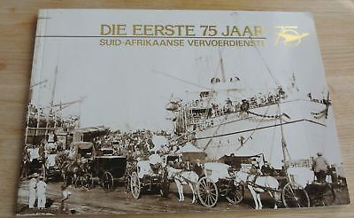 Zuidafrika - South Africa the first 75 years SAR , SAA Trains Planes Busses