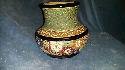 Arts and Crafts Period European pottery vase circa 1910