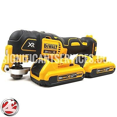 DeWalt DCS355B 20V Cordless Brushless Oscillating Multi Tool 2.0Ah Batteries