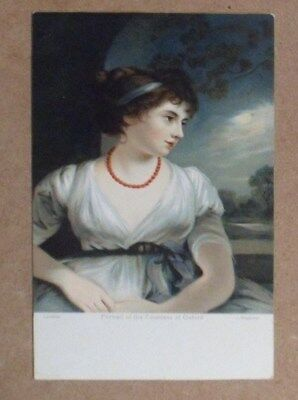 carte postale PORTRAIT of the Coutntess of Oxford j Hoppner