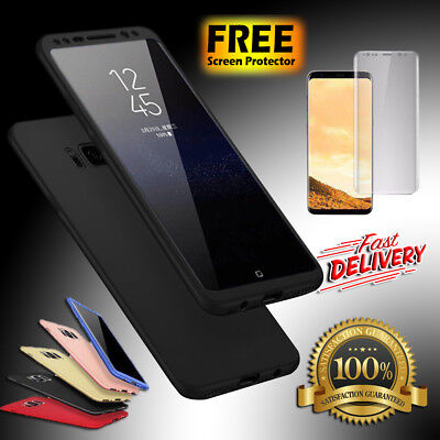 Luxury Ultra Slim Shockproof Bumper Case Cover for Samsung Galaxy S7 S8 Plus S9