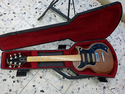 1978 vintage rare 70s 70er Gibson S-1 + Protector Case Bill Lawrence Pickups USA