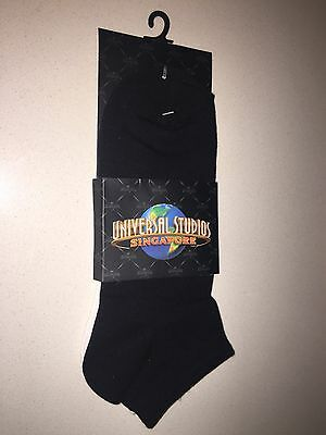 Brand New Universal Studios Original 2x Pairs Of Socks Comfort Fit
