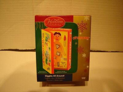 "Carlton Cards Ornament 2006 Operation ""giggles All Around  ""light & Sound"""