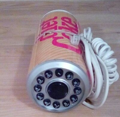 Diet Coke Can Shaped Push Button Telephone 1984