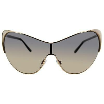 TOM FORD Vanda ROSE Gold Gradient Women s Oversize Cat Eye Sunglasses TF  364 NeW caee2fc72680