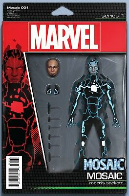 Mosaic #1 Christopher Action Figure Variant Cover Now Marvel Comics 2016