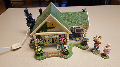 Dept 56 original snow village lilys nursery gifts 5655095 dept 56 original snow village lilys nursery gifts 5655095 easter house negle Images