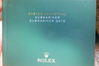 Booklet rolex submariner date usa 04-2012 (B184)
