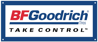 BF Goodrich Tires Advertising Garage Repro Metal Sign 5x12 S49