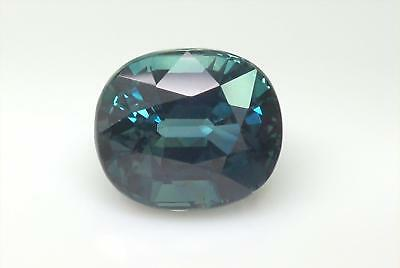 Certified Natural Unheated Sapphire VVS Clarity Gorgeous Blue Color 3.12 Carat