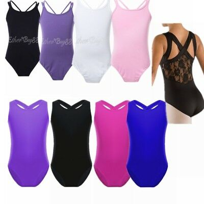 Toddler Kids Ballet Dance Leotards Girls Gymnastics Unitards Jumpsuit  Dancewear