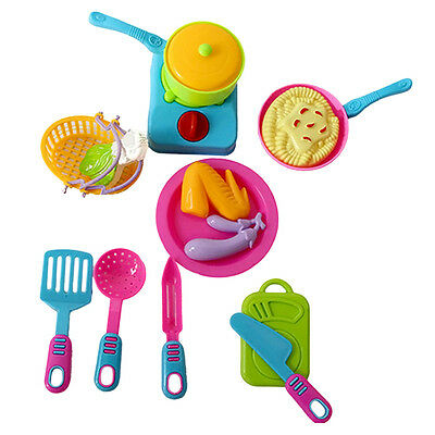 14X Kids Children Kitchen-Cooking Play Role Play Pretend Toy Cooking set NEW~