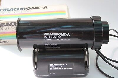 Ilford Cibachrome Processing Drum Roller With 8X10 Drum