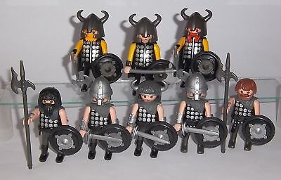 Playmobil® ○ 8 x Germanen Wikinger Gallier vs. Römer ○ Custom