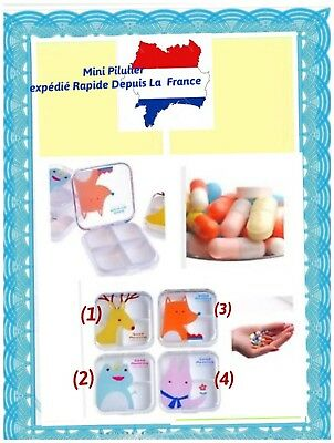 Good Morning Pilulier Journalier Compact Gelules Vitamines &  4 Compartiments