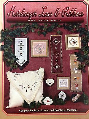 Hardanger Lace & Ribbons by Jean Mann - Compiled by S. Meier & Rosalyn Watnemo