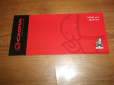 Motorcycle Brochure. Cagiva. Mito and Raptor. 2006. Free UK P&P.