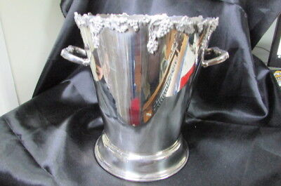 Silver Plate Vintage Ice Bucket