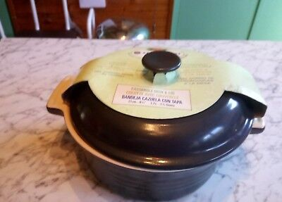Le Creuset Round Grey Casserole Pottery Size 21cm New&Unused Still in Shop Wrap
