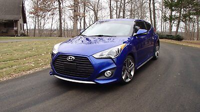 2013 Hyundai Veloster Turbo Comfort and Convenience Package 2013 Hyundai Veloster Turbo