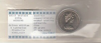 Great Britain 2011 Royal Wedding of Prince William UNC in Capsule