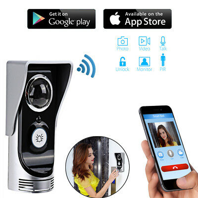Door Bell Wireless Wifi Camera Intercom Night Vision HD iOS Android iSmartBell