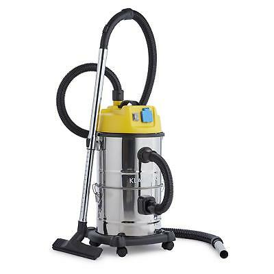 Wet Dry Vacuum Cleaner Shop Vac Industrial Powerful Ash Commercial 30L 1800W