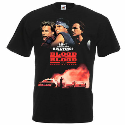 Blood In, Blood Out: Bound by Honor T-shirt black Movie Poster all sizes S...5XL