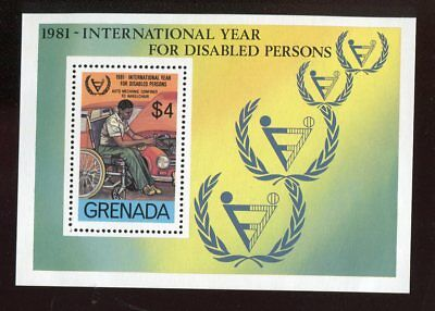 Grenada QEII 1982 Year of Disabled 1981 SG.MS1173 MNH