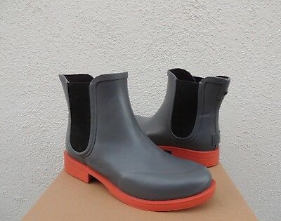 8cae6245c413 Kate Spade Telly Rain Boots Shiny Rubber Ankle Charm Bows Black Size 8 New.