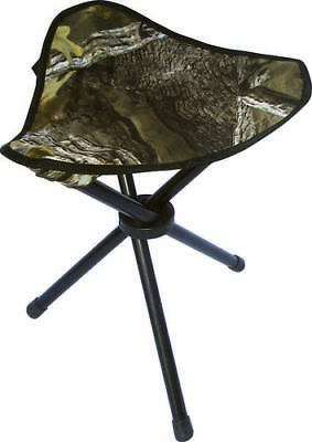 Tri Leg Camo, Folding Hunting Stool, Up To 250 Pounds, Camouflage Chair