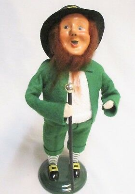 Byers Choice Irish Leprechaun with Cane Caroler - New