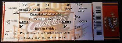 2008 NBA Eastern Conf. Semifinals GM 6 TICKET Boston Celtics Cleveland Cavaliers