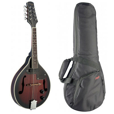 Stagg Electro Acoustic Mandolin with Matching Gig Bag