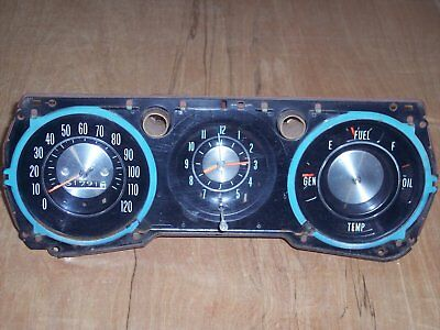 64-65 Chevelle gauge cluster